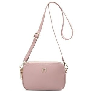 Emilia Blush Crossbody by Melie Bianco